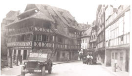 Street view, Strasbourg, France.