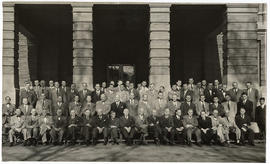 Group portrait of Barnes Hospital medical staff.