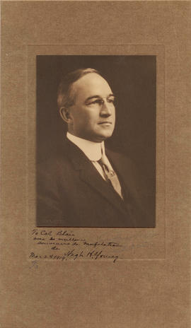 Studio portrait of Hugh H. Young.