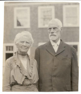 Portrait of Aline and Nathaniel Harrington Cowdry.