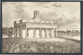 Drawing of Dr. McDowell's Medical College, St. Louis, Missouri.