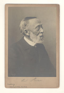Portrait of Rudolph Virchow.