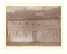 Aminda Hillegeist Baumgarten's childhood home in St. Andreasberg, Hartz Mountains, Germany.