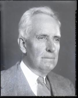 Studio portrait of Vilray P. Blair.