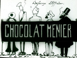 """Chocolat Menier"" cartoon."