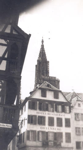 Exterior view of the Hotel Restaurant Ortenberg, Strasbourg, France.