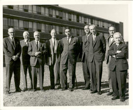 Group portrait of the National Jewish Hospital Advisory Committee, Denver.