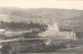 View of the Grand Hotel and spa, Bou Hanifia, Algeria.