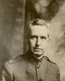 Portrait of Vilray P. Blair in U. S. Army uniform.