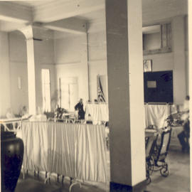 View of Surgical Ward 1, Grand Hotel Lobby, Bou Hanifia, Algeria.