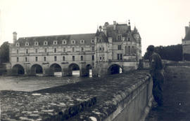 Exterior view of Chenonceaux Chateau.